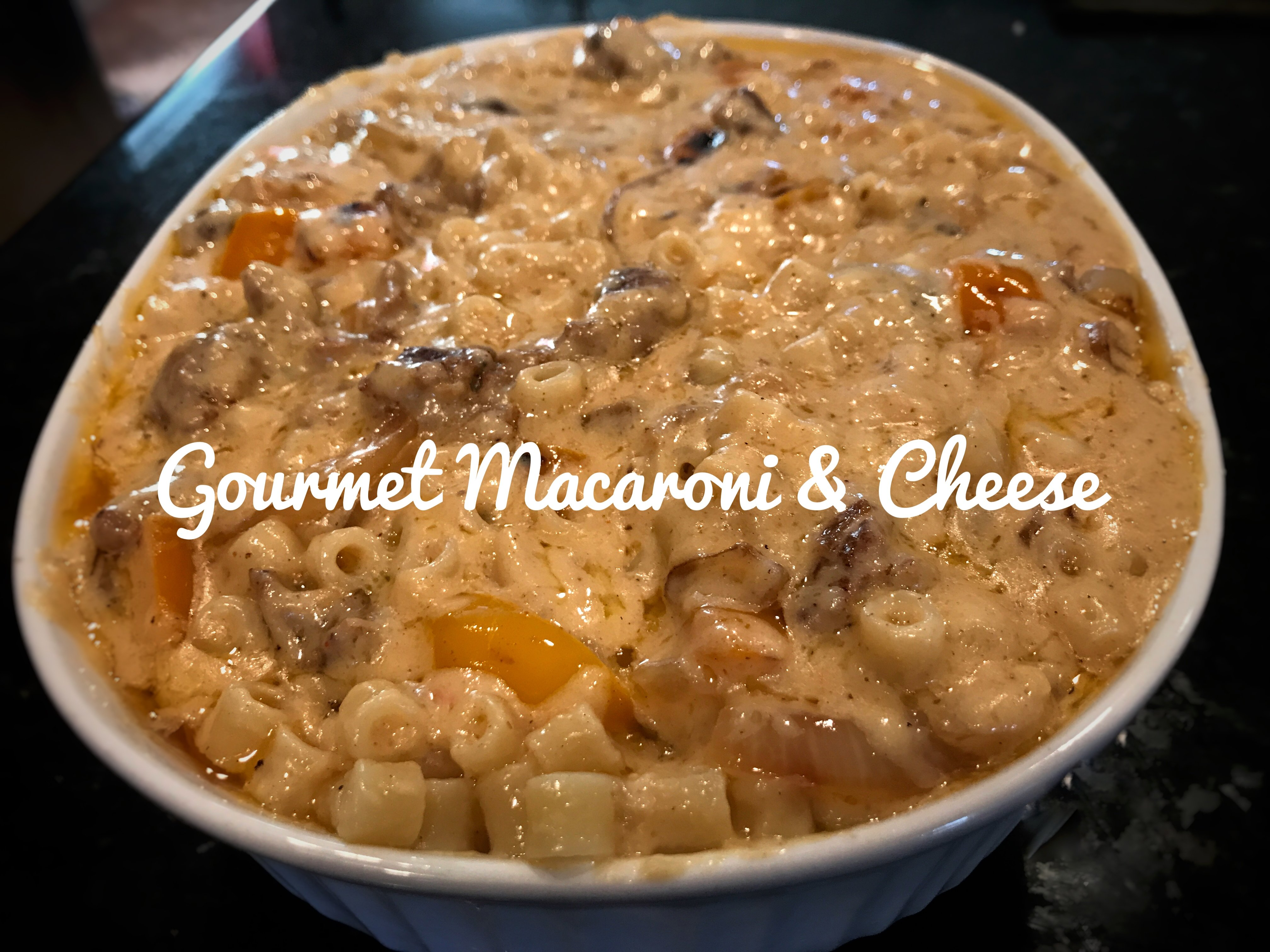Becky's OMG Gourmet Macaroni and Cheese