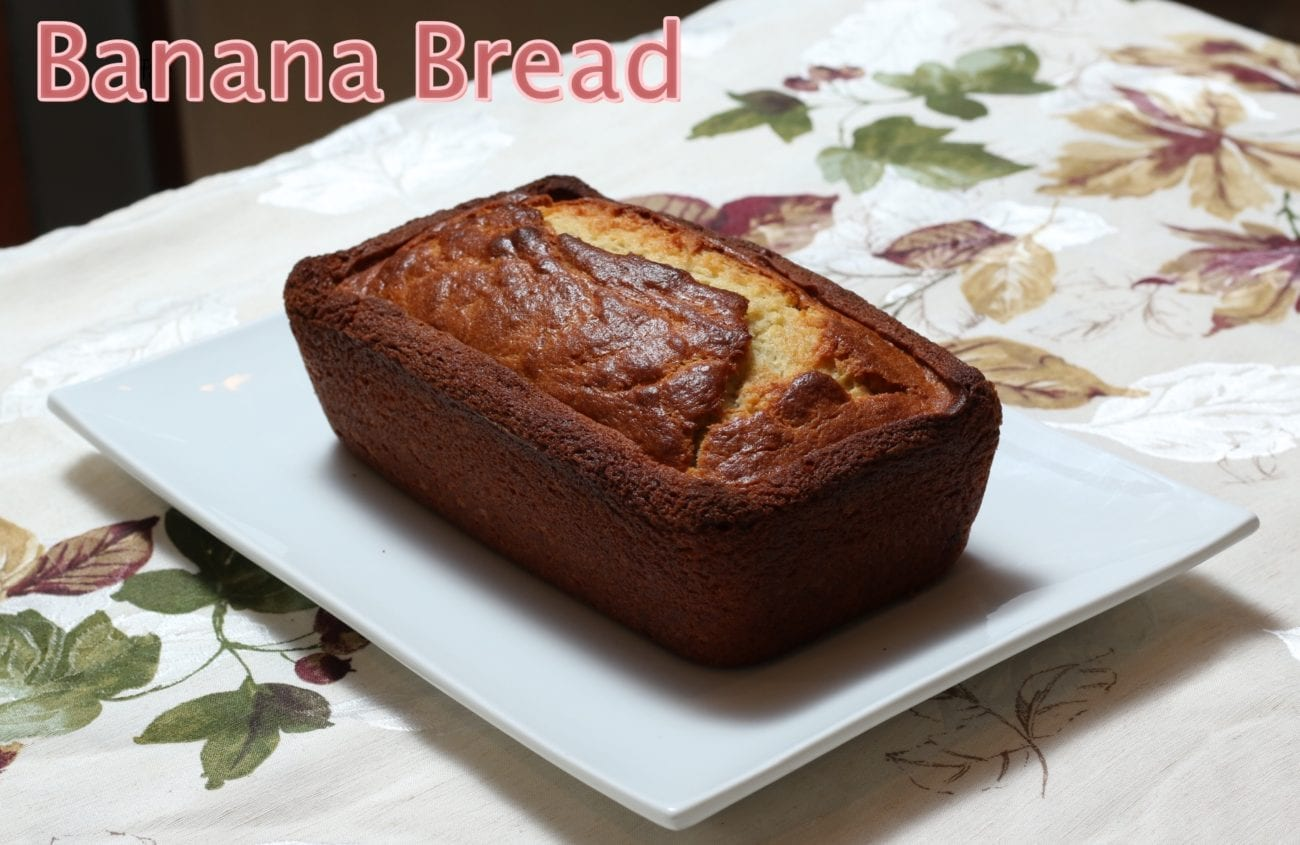 The secret recipe for the Perfect Banana Bread
