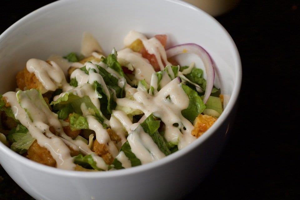 Homemade Buffalo Ranch Salad Dressing