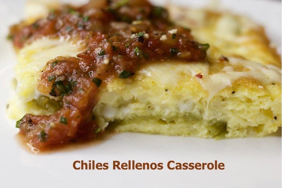 Becky's Chile Rellanos Casserole