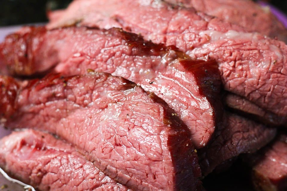 Easy Smoked Tri-Tip